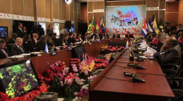 Beim ALBA-Gipfel in Caracas