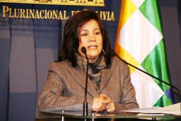 Regierungssprecherin Amanda Dávila