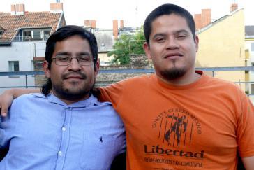 Antonio und Alejandro Cerezo vom mexikanischen Comité Cerezo