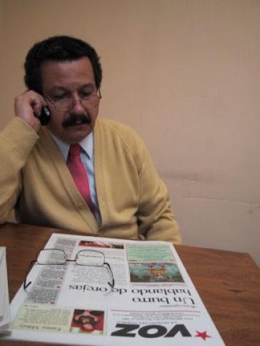 Carlos Lozano im Interview mit amerika21.de