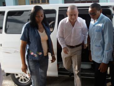 Carromero auf dem Weg zum Gericht