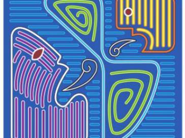 """""""Winde des Wandels"""" - Logo des alternativen Gipfels der Völker in Cartagena"""