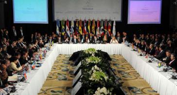 Treffen der Außen- und Wirtschaftsminister der Mercosur-Länder am Donnerstagabend in Brasília