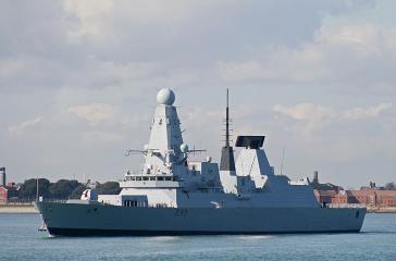 Zerstörer HMS Dauntless