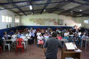 Erstes Trinationales Treffen zum Schutz des Flusses Lempa in San Salvador