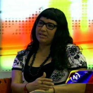 Aktivistin Tatiana Rojas