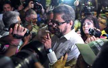 Verhandlungsführer der FARC. Ivan Márquez