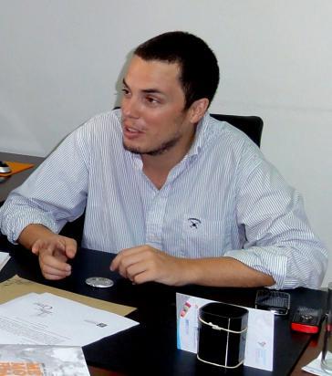 Federico Montero, Hauptkoordinator der Casa Patria Grande Präsident Nestor Kirchner