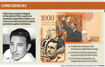 Die Montage der mexikanischen Tageszeitung Exelsior zeigt den Geldschein
