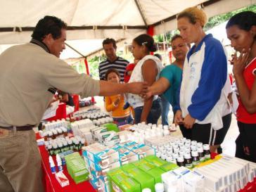 Mobile Apotheke auf dem Land in Venezuela