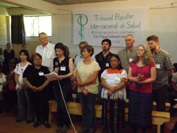 Mitglieder des Gesundheitstribunals in Guatemala