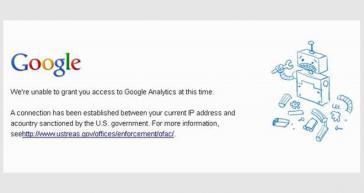 Für Kuba gesperrt: Google