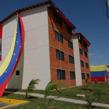 Einweihung von Häusern im Rahmen der Gran Misión Vivienda