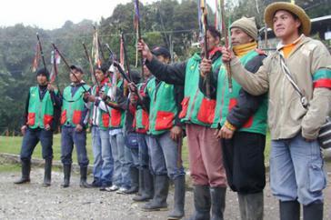 """Ab sofort in """"permanenter Versammlung"""": Vertreter der indigenen Räte von Nord-Cauca"""
