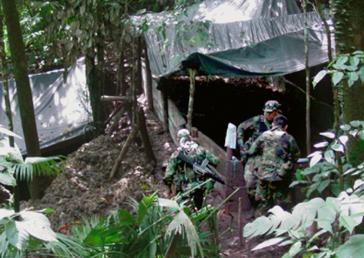 Kokain-Labor in Peru