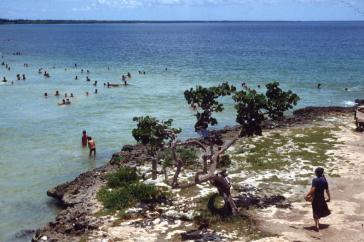 Playa Larga in Cuba, hier in einer Aufnahme aus dem Jahr 1983