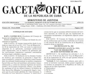 Amtsblatt mit der neuen Regelung