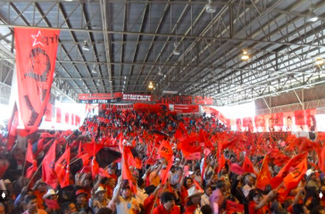 Auf dem Gründungskongress der Partei Libre