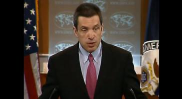 US-Außenamtssprecher Marc C. Toner