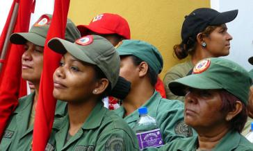 Bolivarische Milizionärinnen