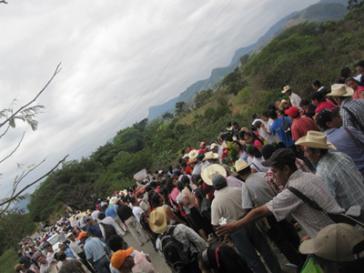 Gegner des unkontrollierten Bergbaus mobilisieren in Südmexiko