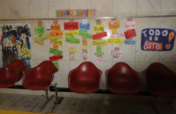 Immer volles Programm: Ankündigungen der kostenlosen Veranstalten außerhalb des Theatersaals