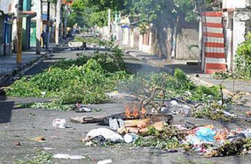 Proteste in Banoa