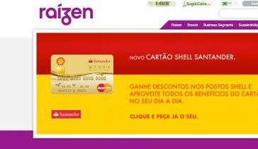 Homepage des Unternehmens Raizen