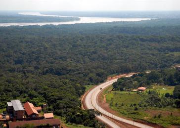 Rio Madeira und die Bundesstraße BR-364