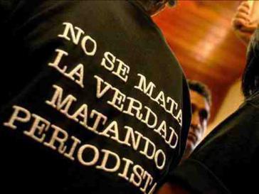 """Protestaktion in Honduras:""""Die Wahrheit wird nicht umgebracht, indem Journalisten umgebracht werden"""""""
