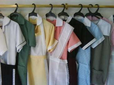 In Lateinamerika üblich: Uniformen für Hausangestellte