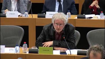 Jürgen Klute, Europaabgeordneter der Linksfraktion GUE/NGL