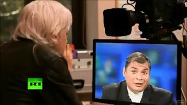 Ecuadors Präsident Rafael Correa im Interview