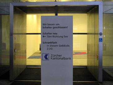 Schalter geschlossen – nun auch für Kuba: Am Sitz der Zürcher Kantonalbank