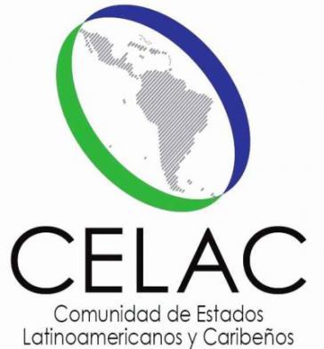 Logo der Gemeinschaft der lateinamerikanischen und karibischen Staaten