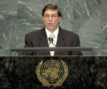 Bruno Rodríguez, amtierender Präsident der CELAC und Außenminister von Kuba.