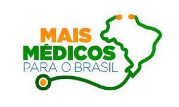 Logo des Regierungsprogramms Mais Médicos