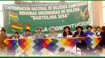 Frauengipfel 2010 in Cochabamba