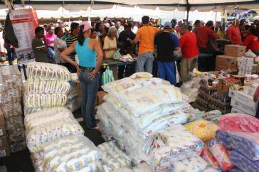 Venezolanischer Markt.