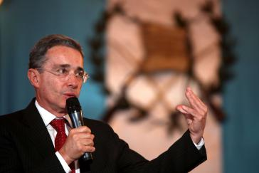 Ex-Präsident Álvaro Uribe