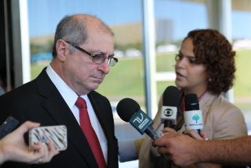 Brasiliens Kommunikationsminister Paulo Bernardo Silva