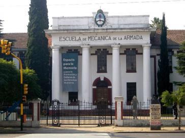 Die ehemalige Technikschule der Marine diente während der Militärdiktatur als Folterzentrum