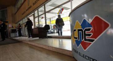 Sitz des Nationalen Wahlrats in Caracas