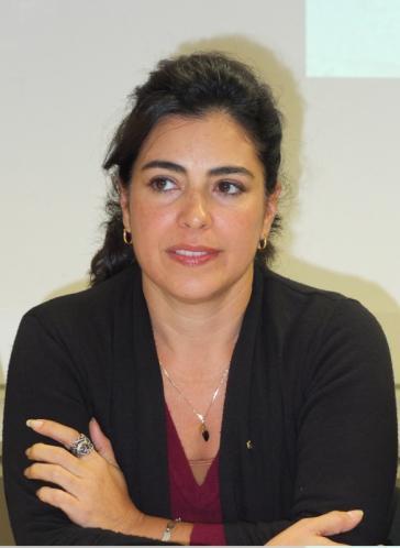 Die kubanische Aktivistin Adriana Pérez, Ehefrau von  Gerardo Hernández, der zu zweimal Lebenslänglich plus 15 Jahre Haft verurteilt wurde