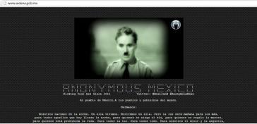 """Foto des """"Defacement"""" der Webseite von Sedena"""