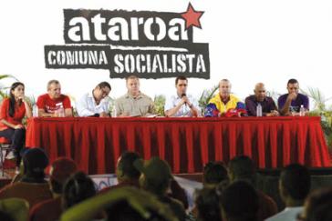 """Die Auftaktveranstaltung der Kampagne fand in der """"sozialistischen Kommune Ataroa"""" statt"""