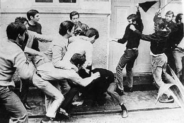 """Straßenkämpfe während der """"Batalha da Maria Antônia"""""""