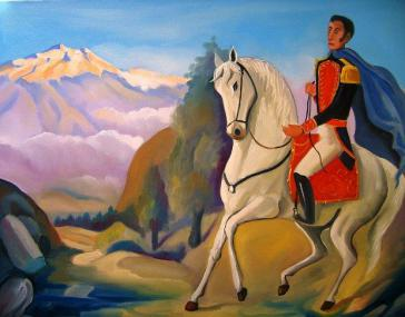 Bildnis Simón Bolívars