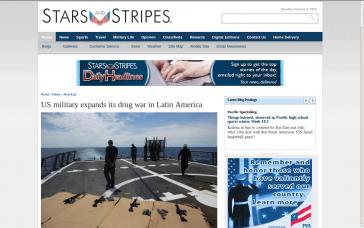 """Die Zeitschrift der US-Streitkräfte """"Stars and Stripes"""""""