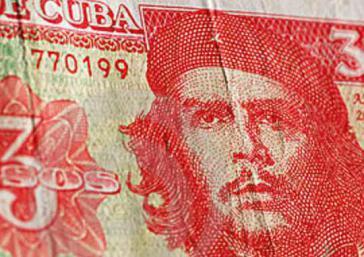 Kubanischer Drei-Peso-Schein